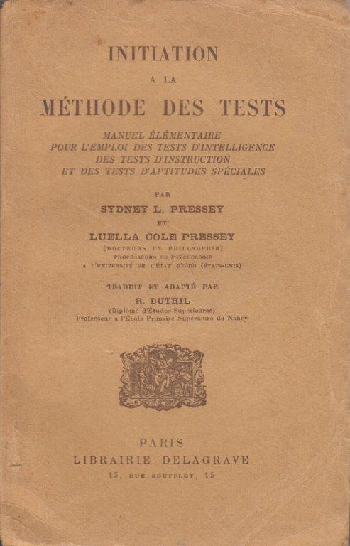 Méthode Des Tests